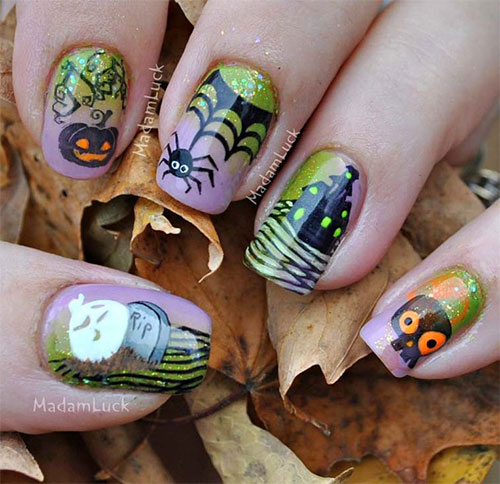 25-Scary-Halloween-Nail Art-Designs-Ideas-Trends-Stickers-2015-7