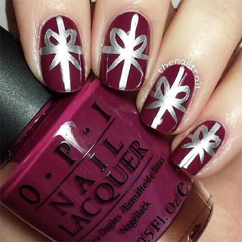christmas present nail designs wwwimgkidcom the