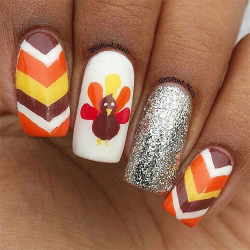 15-Best-Turkey-Nail-Art-Designs-Ideas-Trends- - 15 Best Turkey Nail Art Designs, Ideas & Trends 2015 Thanksgiving