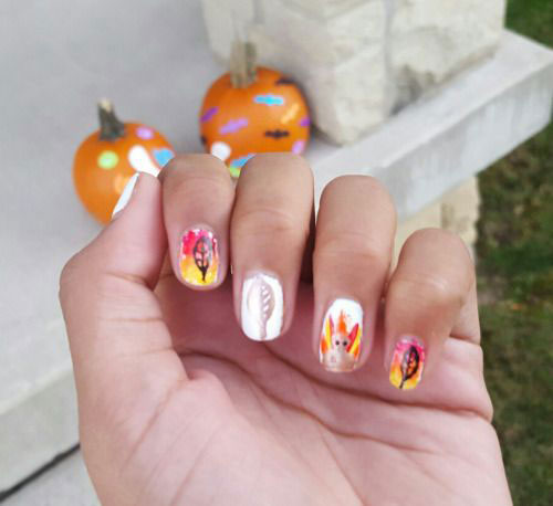 15-Best-Turkey-Nail-Art-Designs-Ideas-Trends-2015 -Thanksgiving-Nails-12
