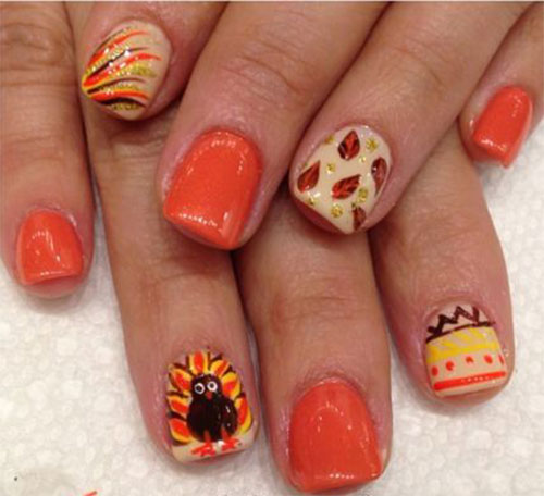 15-Best-Turkey-Nail-Art-Designs-Ideas-Trends-2015 -Thanksgiving-Nails-15