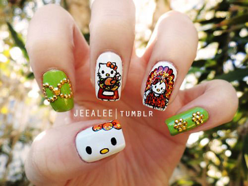 15-Best-Turkey-Nail-Art-Designs-Ideas-Trends-2015 -Thanksgiving-Nails-2