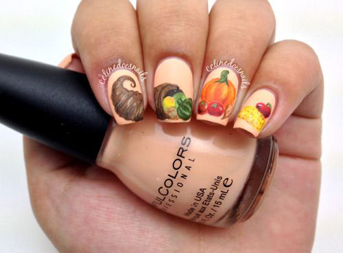 15-Best-Turkey-Nail-Art-Designs-Ideas-Trends-2015 -Thanksgiving-Nails-4