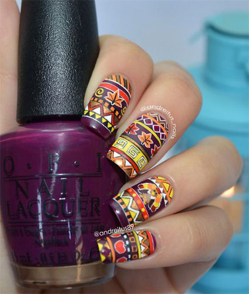 15-Best-Turkey-Nail-Art-Designs-Ideas-Trends-2015 -Thanksgiving-Nails-8