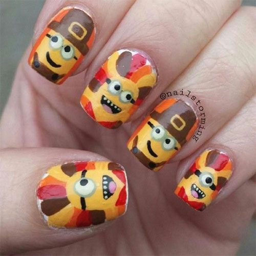 15-Best-Turkey-Nail-Art-Designs-Ideas-Trends-2015 -Thanksgiving-Nails-9