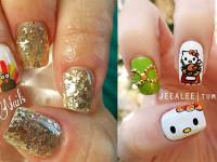 15-Best-Turkey-Nail-Art-Designs-Ideas-Trends-2015 -Thanksgiving-Nails-F