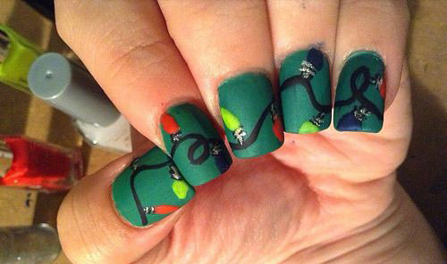 15-Christmas-Lights-Nail-Art-Designs-Ideas-Stickers-2015-Xmas-Nails-11