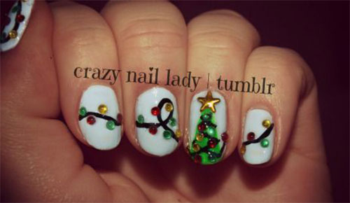 15-Christmas-Lights-Nail-Art-Designs-Ideas-Stickers-2015-Xmas-Nails-12