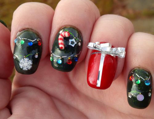 15-Christmas-Lights-Nail-Art-Designs-Ideas-Stickers-2015-Xmas-Nails-13
