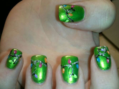 15-Christmas-Lights-Nail-Art-Designs-Ideas-Stickers-2015-Xmas-Nails-17