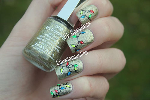 15-Christmas-Lights-Nail-Art-Designs-Ideas-Stickers-2015-Xmas-Nails-6