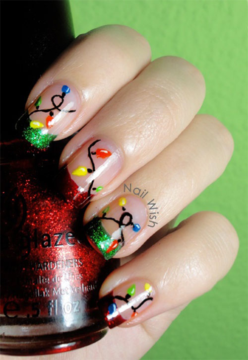 15-Christmas-Lights-Nail-Art-Designs-Ideas-Stickers-2015-Xmas-Nails-7