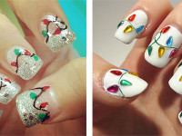 15-Christmas-Lights-Nail-Art-Designs-Ideas-Stickers-2015-Xmas-Nails-F