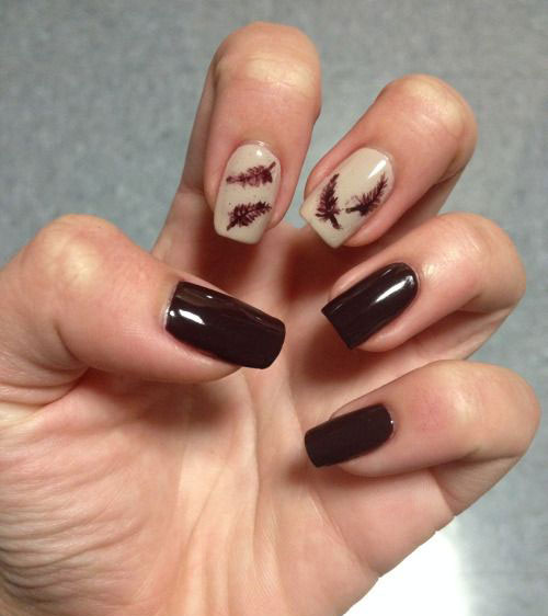 15+ Cute & Easy Fall / Autumn Nail Art Designs & Ideas 2015 ...