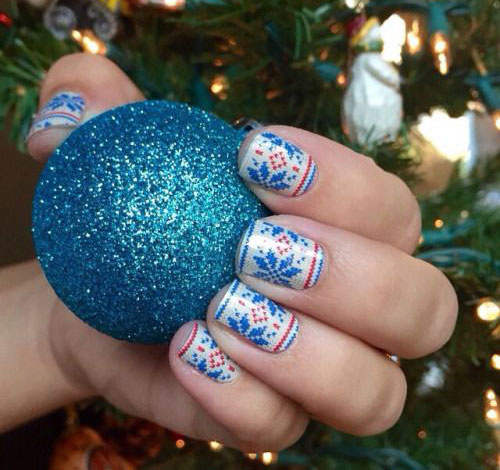 15-Ugly-Christmas-Sweater-Nail-Art-Designs-Ideas-Stickers-2015-Xmas-Nails-14