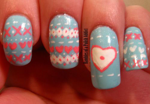 15-Ugly-Christmas-Sweater-Nail-Art-Designs-Ideas-Stickers-2015-Xmas-Nails-16