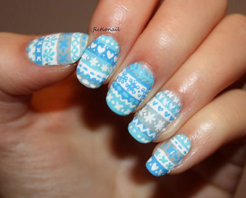 15-Ugly-Christmas-Sweater-Nail-Art-Designs-Ideas-Stickers-2015-Xmas-Nails-6