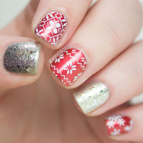18-Easy-Cute-Christmas-Nail-Art-Designs-Ideas-Trends-2015 -Xmas-Nails-13