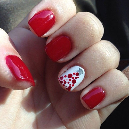 Easy Christmas Nail Art: 18 Easy & Cute Christmas Nail Art Designs, Ideas & Trends