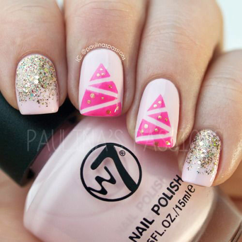 18-Easy-Cute-Christmas-Nail-Art-Designs-Ideas-Trends-2015 -Xmas-Nails-2