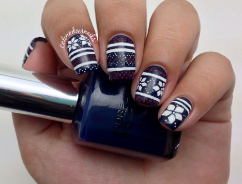18-Easy-Cute-Christmas-Nail-Art-Designs-Ideas-Trends-2015 -Xmas-Nails-6