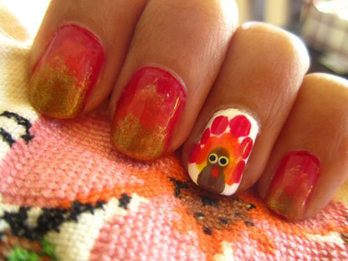 18-Easy-Cute-Thanksgiving-Nail-Art-Designs-Ideas-Stickers-2015-11