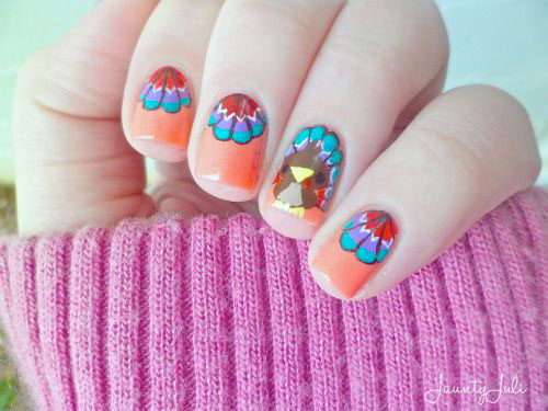 18-Easy-Cute-Thanksgiving-Nail-Art-Designs-Ideas-Stickers-2015-17