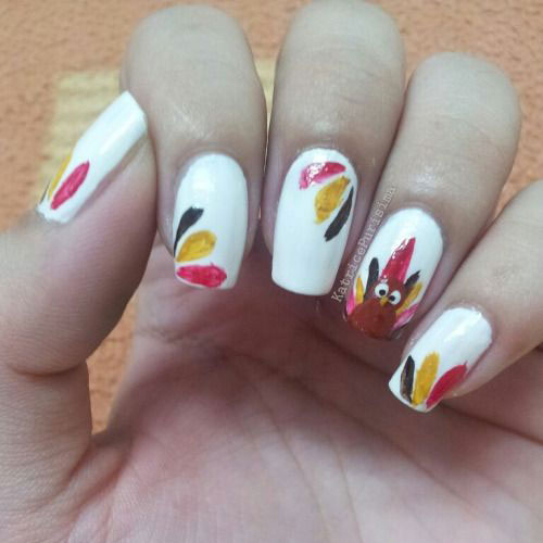 18-Easy-Cute-Thanksgiving-Nail-Art-Designs-Ideas-Stickers-2015-2