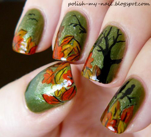 25-Amazing-Fall-Nail-Art-Designs-Ideas-Trends-Stickers-2015-Autumn-Nails-11