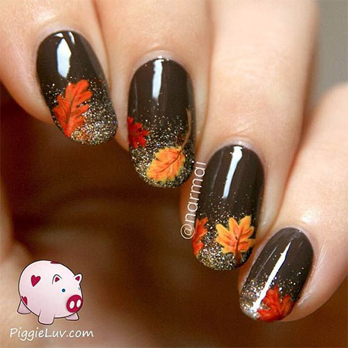 Popolare 25 Amazing Fall Nail Art Designs, Ideas, Trends & Stickers 2015  WA34