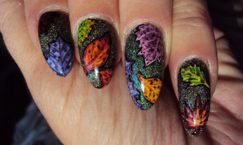 25-Amazing-Fall-Nail-Art-Designs-Ideas-Trends-Stickers-2015-Autumn-Nails-23