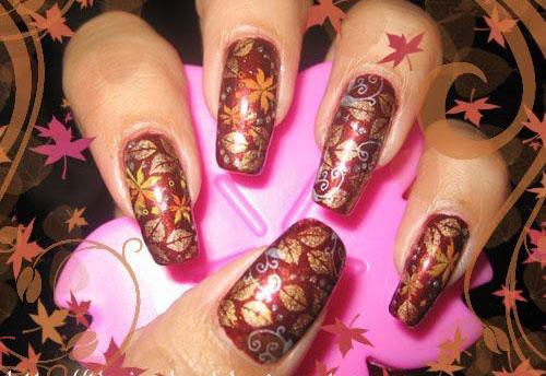 25-Best-Autumn-Leaf-Nail-Art-Designs-Ideas-Stickers-2015-Fall-Nails-17
