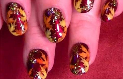25-Best-Autumn-Leaf-Nail-Art-Designs-Ideas-Stickers-2015-Fall-Nails-22