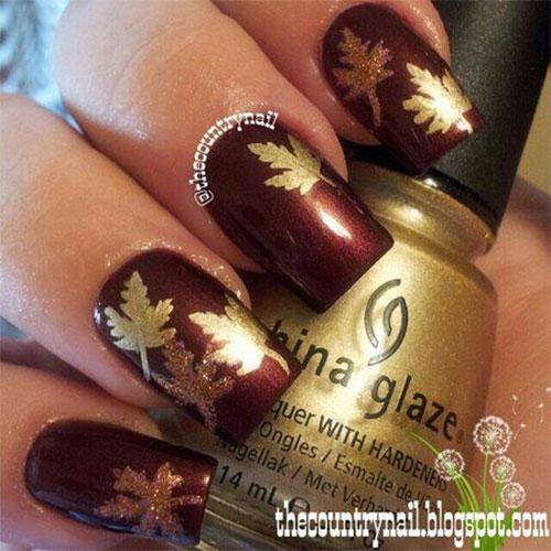 25-Best-Autumn-Leaf-Nail-Art-Designs-Ideas-Stickers-2015-Fall-Nails-25