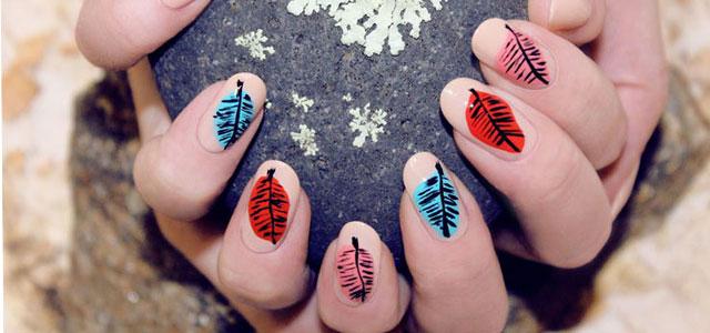 25 best autumn leaf nail art designs ideas amp stickers