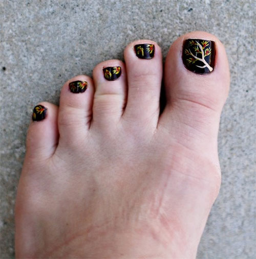 Inspiring-Cool-Fall-Autumn-Toe-Nail-Art-Designs-Ideas-2015-5