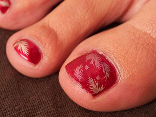 Inspiring-Cool-Fall-Autumn-Toe-Nail-Art-Designs-Ideas-2015-6