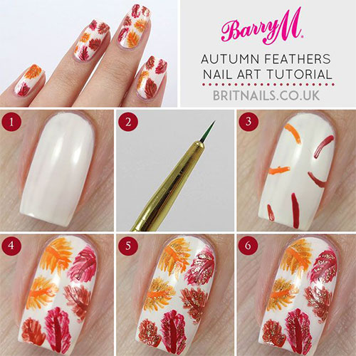 Fall Nail Art Tutorials For Beginners 2015   Fabulous Nail Art Designs