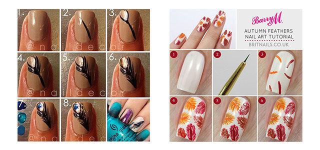 Step-By-Step-Autumn-Fall-Nail-Art-Tutorials-For-Beginners-2015-F