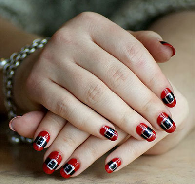 10-Santa-Belt-Nail-Art-Designs-Ideas-Trends-Stickers-2015-Xmas-Nails-2