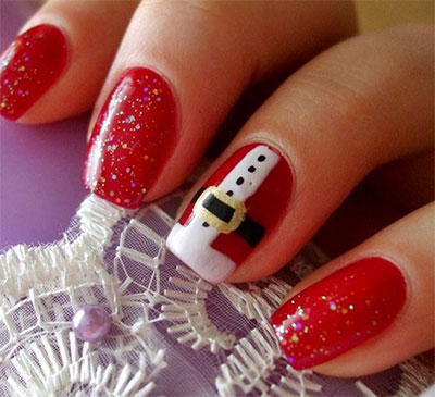 10-Santa-Belt-Nail-Art-Designs-Ideas-Trends-Stickers-2015-Xmas-Nails-4