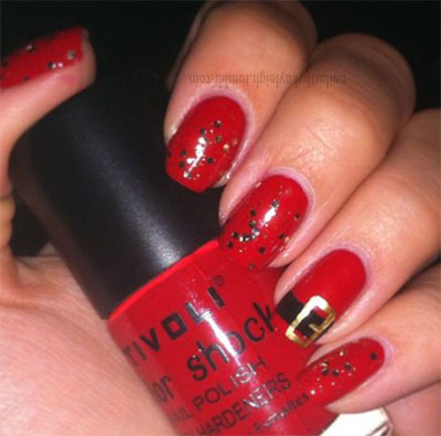 10-Santa-Belt-Nail-Art-Designs-Ideas-Trends-Stickers-2015-Xmas-Nails-6