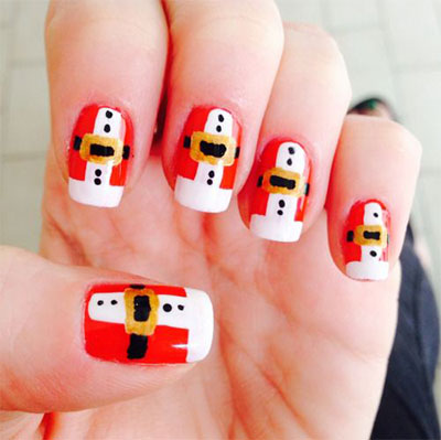 10-Santa-Belt-Nail-Art-Designs-Ideas-Trends-Stickers-2015-Xmas-Nails-8