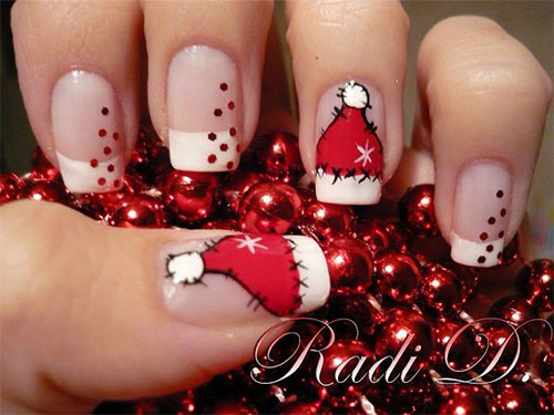 12-Santa-Hat-Nail-Art-Designs-Ideas-Trends-Stickers-2015-Xmas-Nails-6