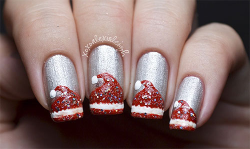 12-Santa-Hat-Nail-Art-Designs-Ideas-Trends-Stickers-2015-Xmas-Nails-8