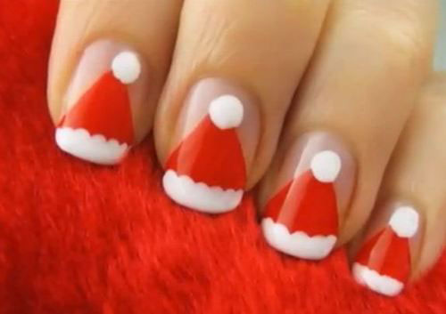 12-Santa-Hat-Nail-Art-Designs-Ideas-Trends-Stickers-2015-Xmas-Nails-9
