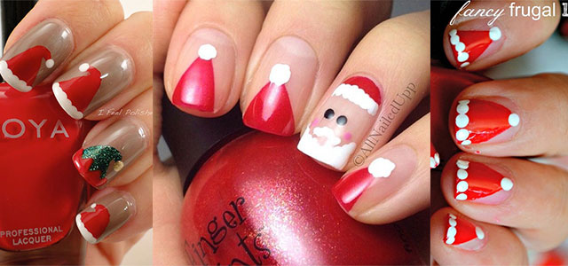 12-Santa-Hat-Nail-Art-Designs-Ideas-Trends-Stickers-2015-Xmas-Nails-F