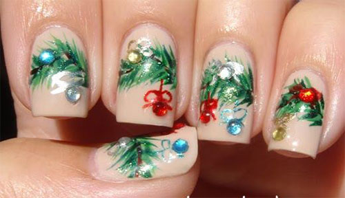 15-Christmas-Ornament-Nail-Art-Designs-Ideas-Stickers-2015-Xmas-Nails-15