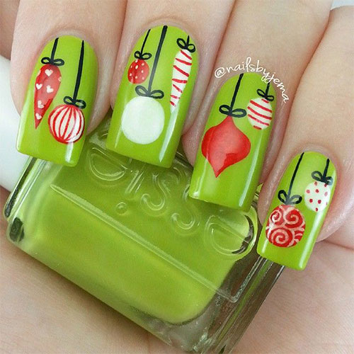 15-Christmas-Ornament-Nail-Art-Designs-Ideas-Stickers-2015-Xmas-Nails-2