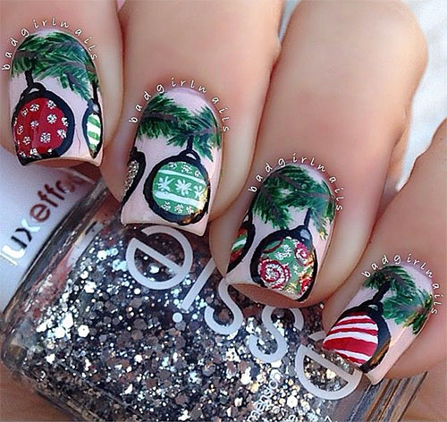15-Christmas-Ornament-Nail-Art-Designs-Ideas-Stickers-2015-Xmas-Nails-3